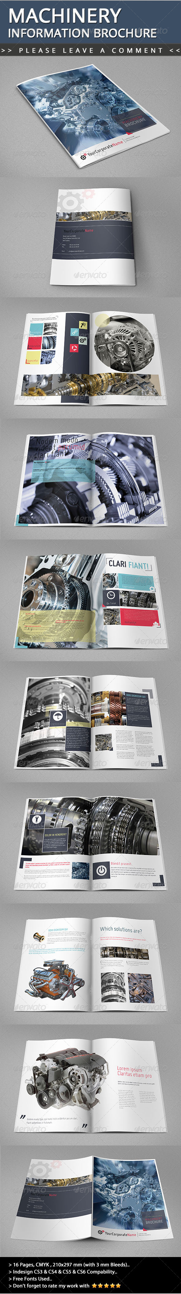 GraphicRiver Machinery Information Brochure 5067838