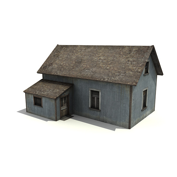 3DOcean Old Wooden House 5067884