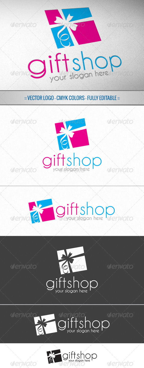 GraphicRiver Gift Shop Logo 5054359