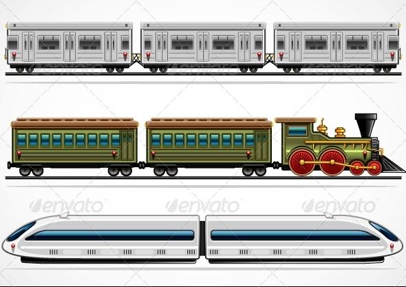 GraphicRiver Railway Transport 5057762