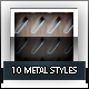 10 Metal Styles Premium HD - GraphicRiver Item for Sale