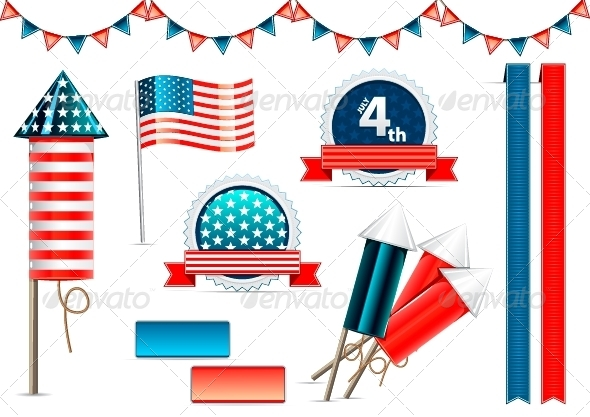GraphicRiver USA Independence Day 5056926