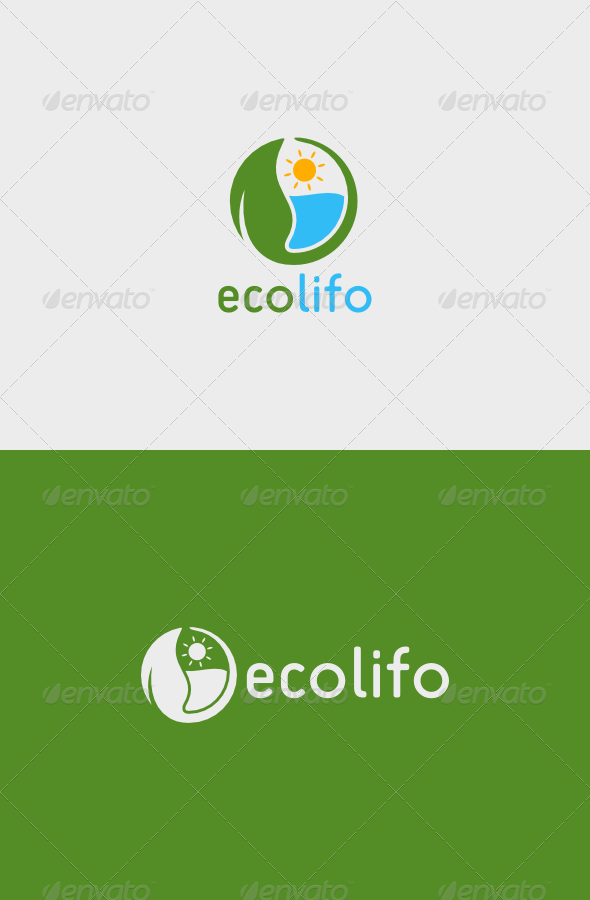 GraphicRiver Eco Lifo Logo 5069324