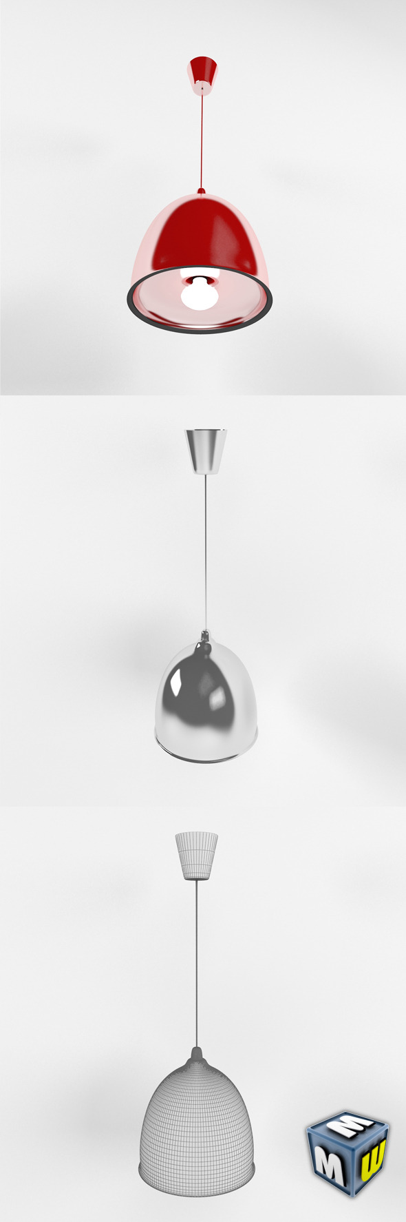 Kitchen Lamp MAX 2011 - 3DOcean Item for Sale