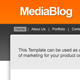 Media Blog - ThemeForest Item for Sale