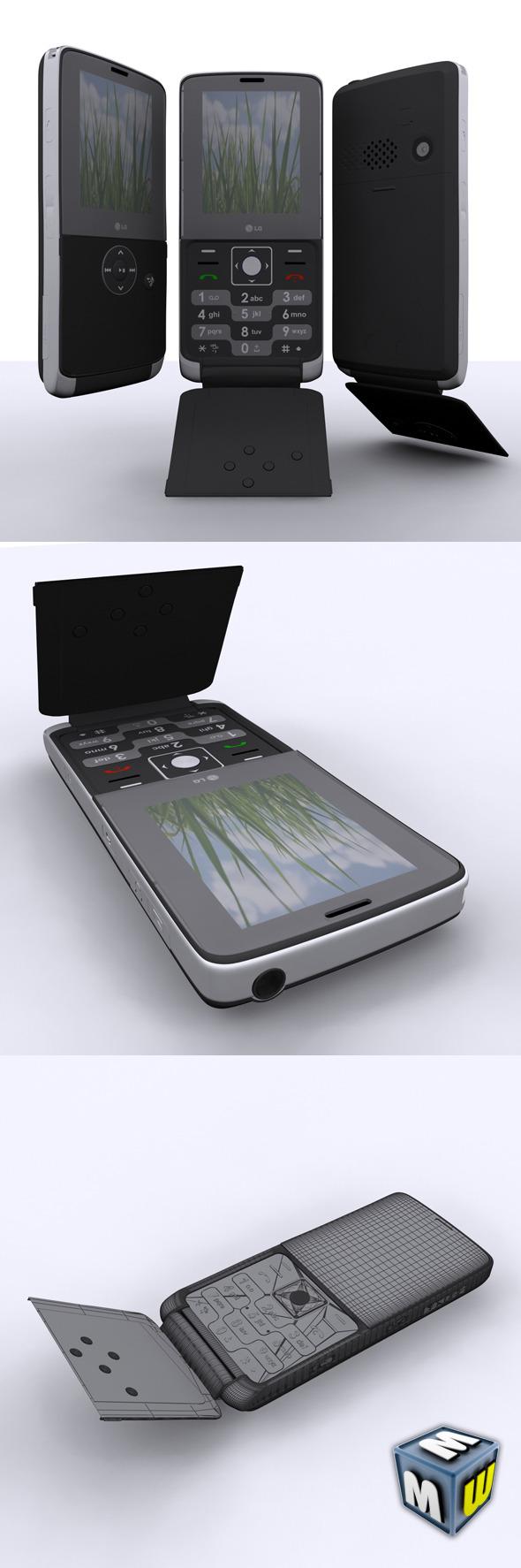 LG KM380 Max 2010 - 3DOcean Item for Sale
