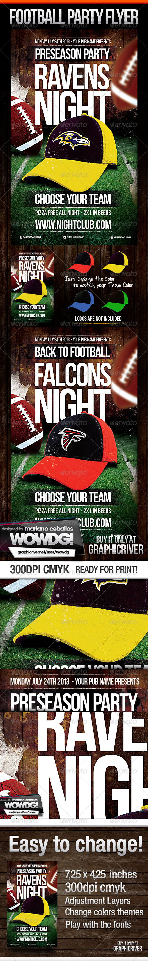Football Flyer Party - Sports Events