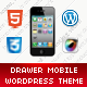 The Drawer Mobile Retina | WordPress Version - ThemeForest Item for Sale