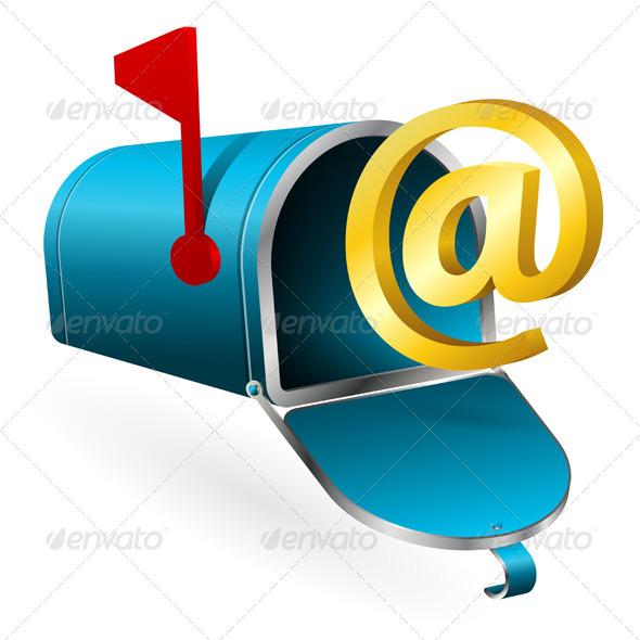 GraphicRiver E-Mail Concept 4272261