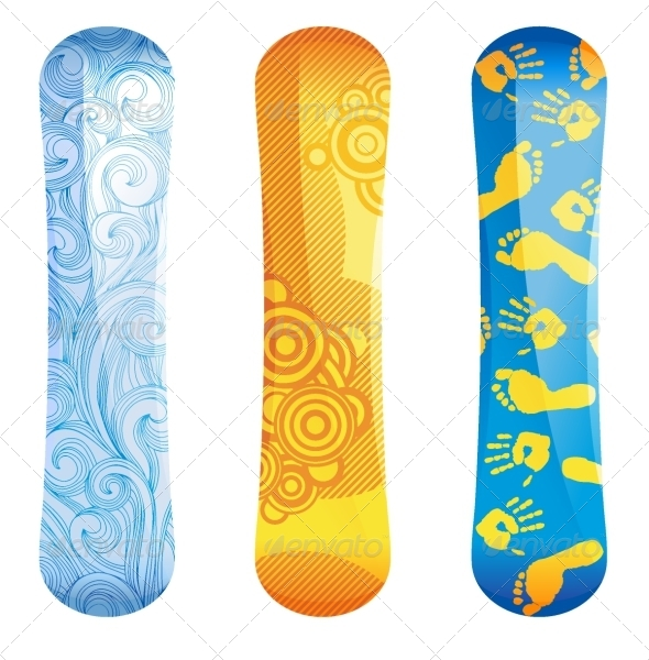 GraphicRiver Snowboards 5071423