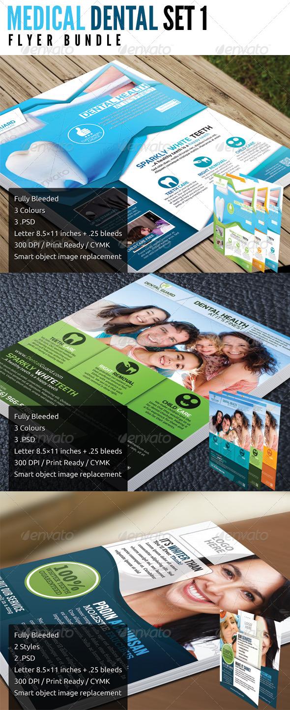 GraphicRiver Medical Dental Bundle Set 1 5071586