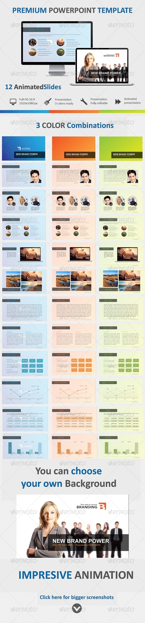 GraphicRiver Brand Powerpoint Template 5015208