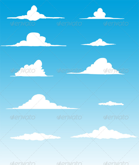 GraphicRiver Clouds 5059139