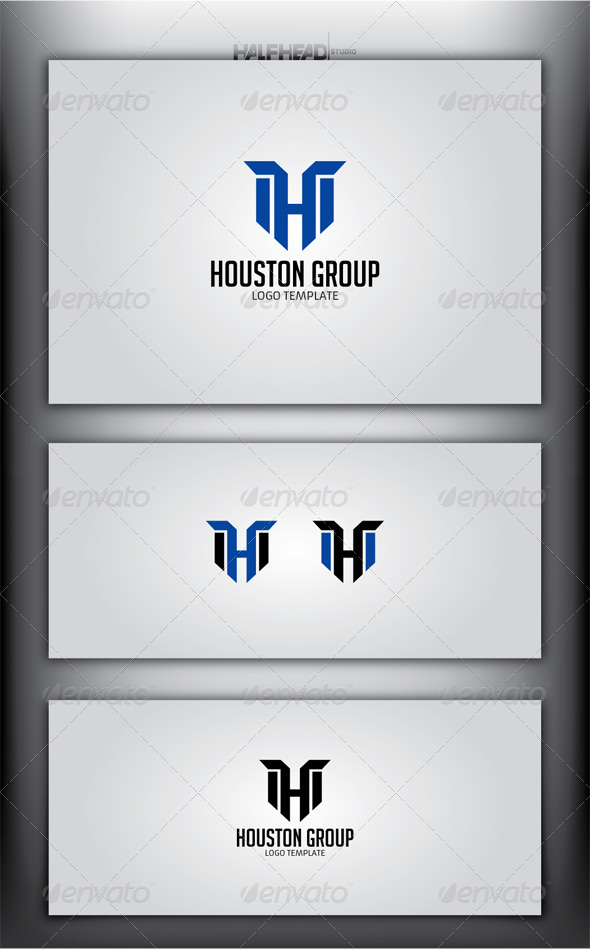 GraphicRiver Houston Group Logo Template 5072356