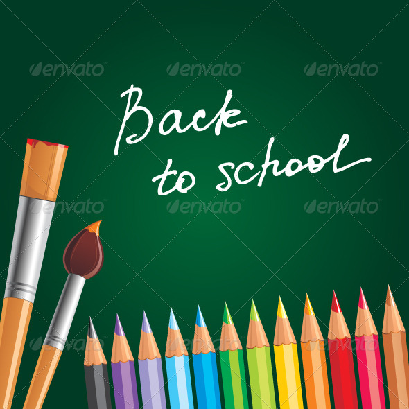 GraphicRiver Back to School 5072578