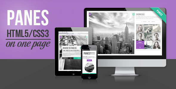 Panes - HTML5 Business Theme (Business)