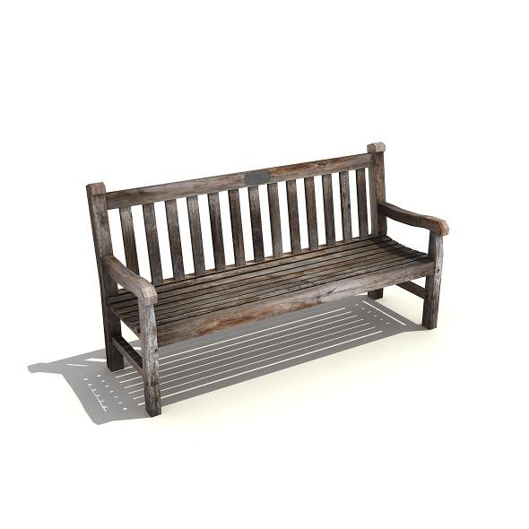3DOcean Wooden Bench 5072949