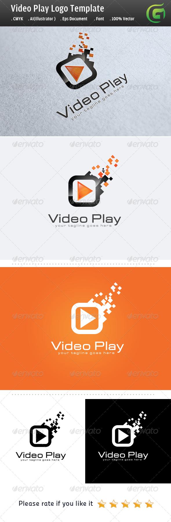 Video Play - Symbols Logo Templates