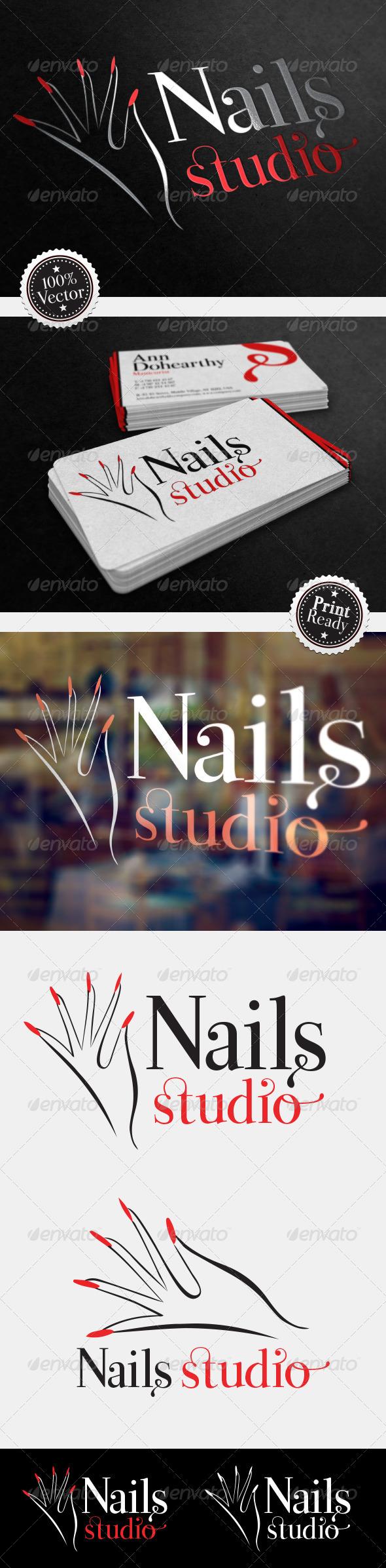 GraphicRiver Nails Studio Logo 5060087