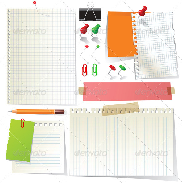 Papers and Office Supplies