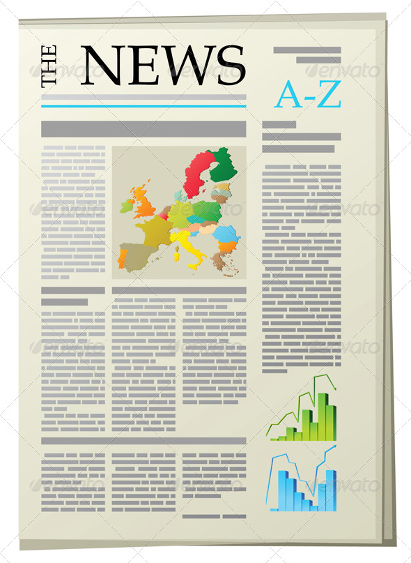 GraphicRiver Newspaper 5073422