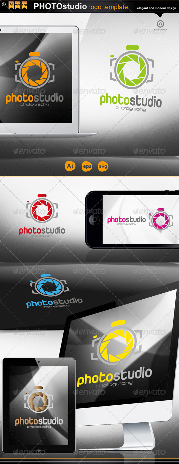 Photo Studio - Logo Templates