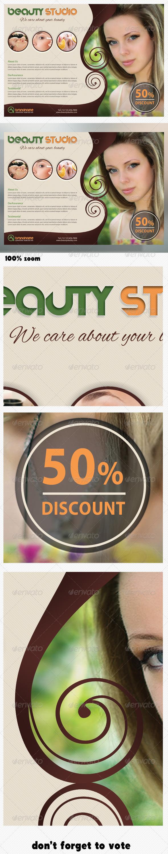 Beauty Studio Fashion Flyer - Commerce Flyers