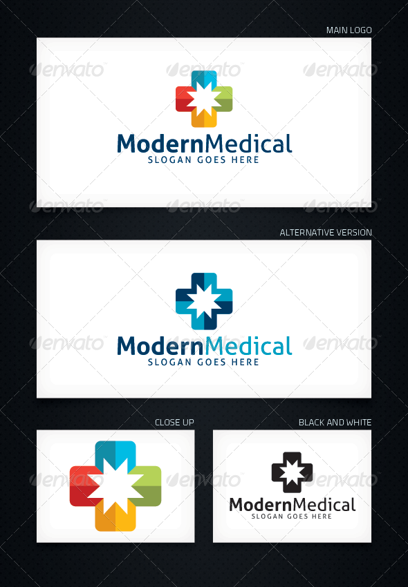 GraphicRiver Modern Medical Logo Template 5073575
