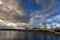 Pskov Kremlin in the evening before the storm - PhotoDune Item for Sale