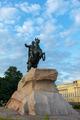 Bronze Horseman at dawn, Saint-Petersburg, Russia - PhotoDune Item for Sale