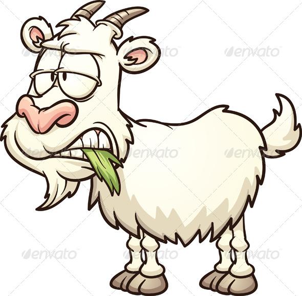 GraphicRiver Cartoon Goat 5074194