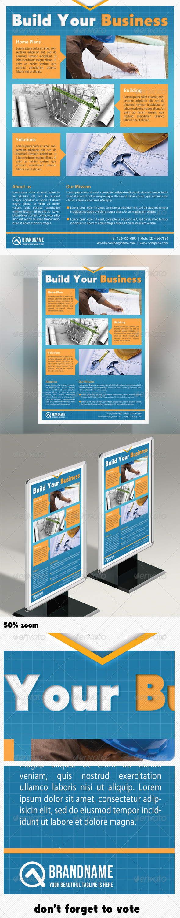 GraphicRiver Corporate Product Flyer 06 5074199