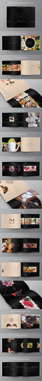 GraphicRiver Premium Gourmet Brochure 5012550
