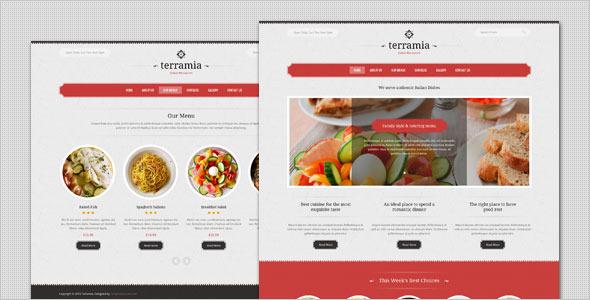 Terramia - Classic Restaurant HTML Template