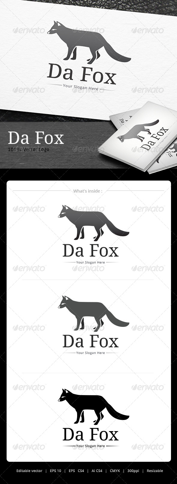 GraphicRiver Da Fox Logo 5074497