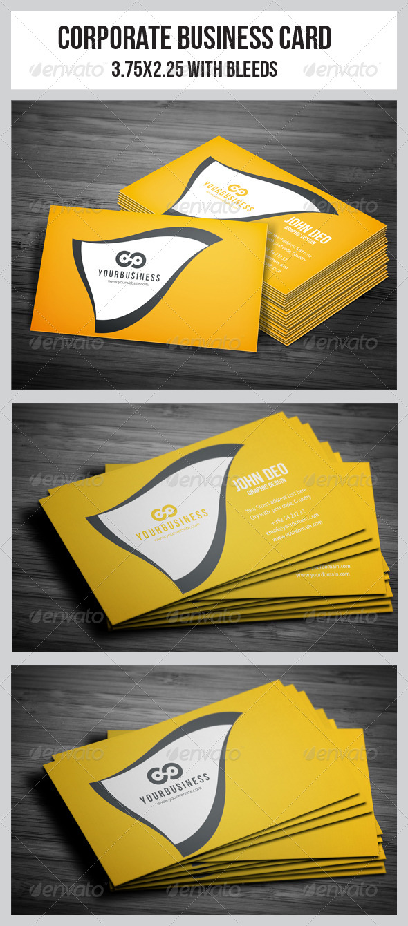 GraphicRiver Corporate Business Cards 5011174