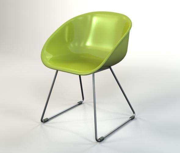 3DOcean Plastic Chair 5074796
