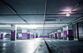 Empty Underground Carpark - PhotoDune Item for Sale