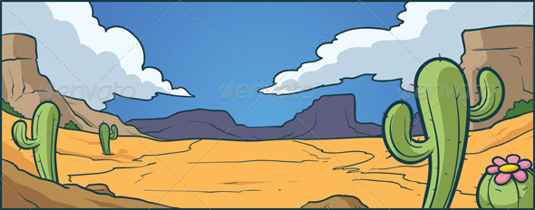 GraphicRiver Desert Background 5074900
