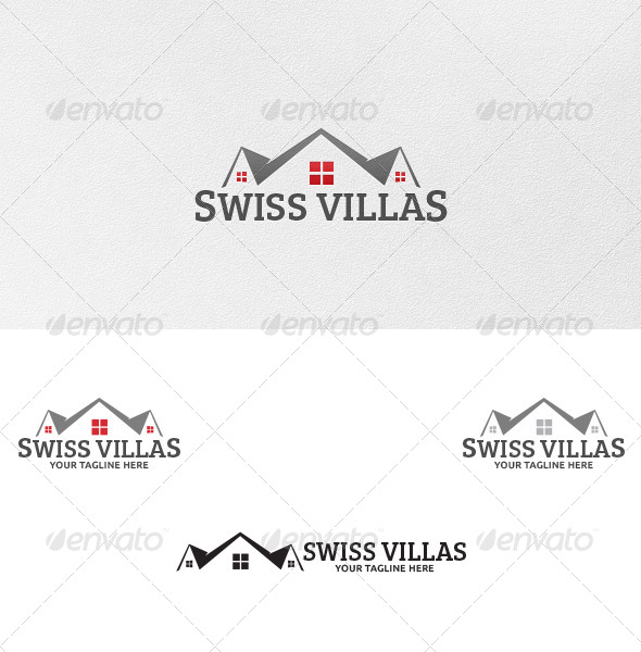 GraphicRiver Swiss Villas Logo Template 5074910