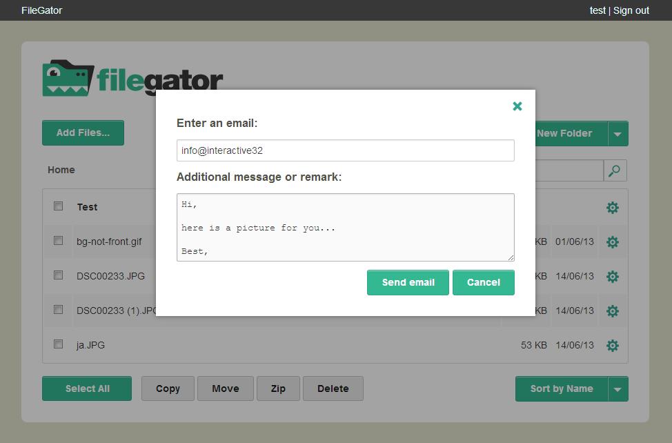FileGator