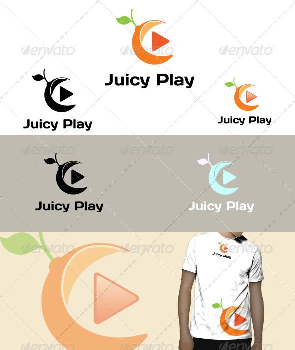 GraphicRiver Juicy Play logo 5075125