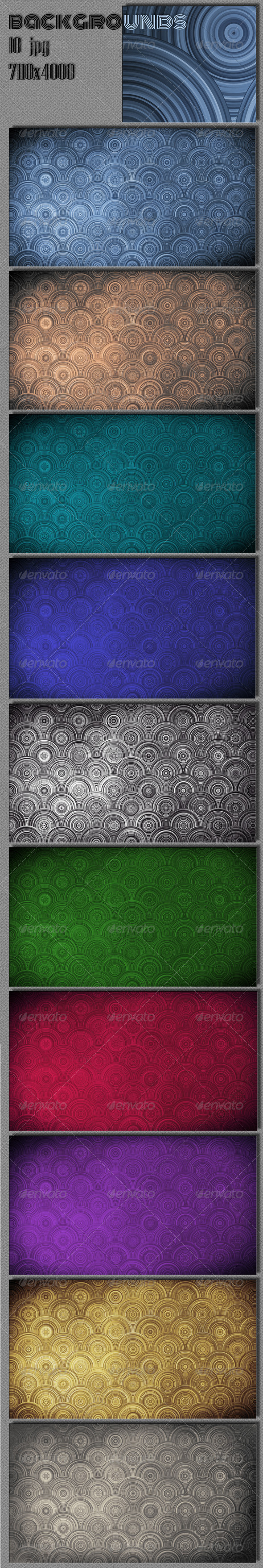 GraphicRiver Circles Backgrounds 5075275