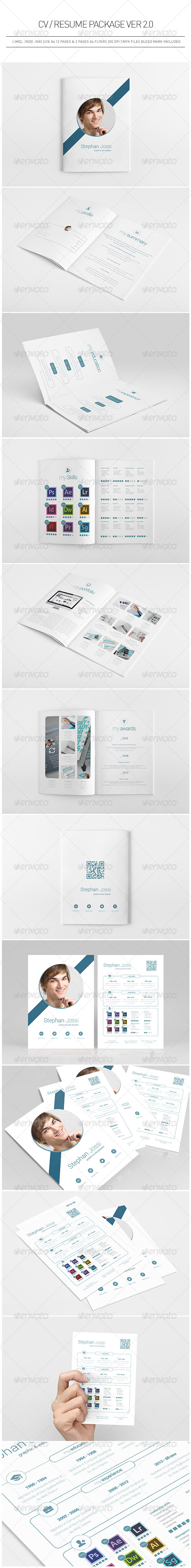 CV / Resume Package Ver 2.0 - Resumes Stationery