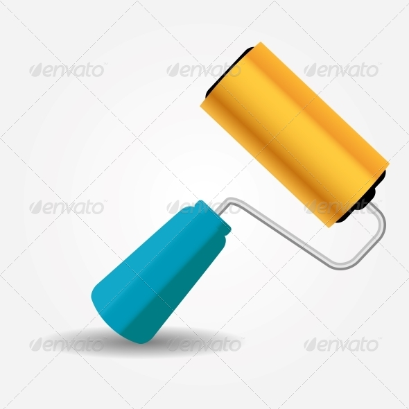 GraphicRiver Paint Roller 5075661