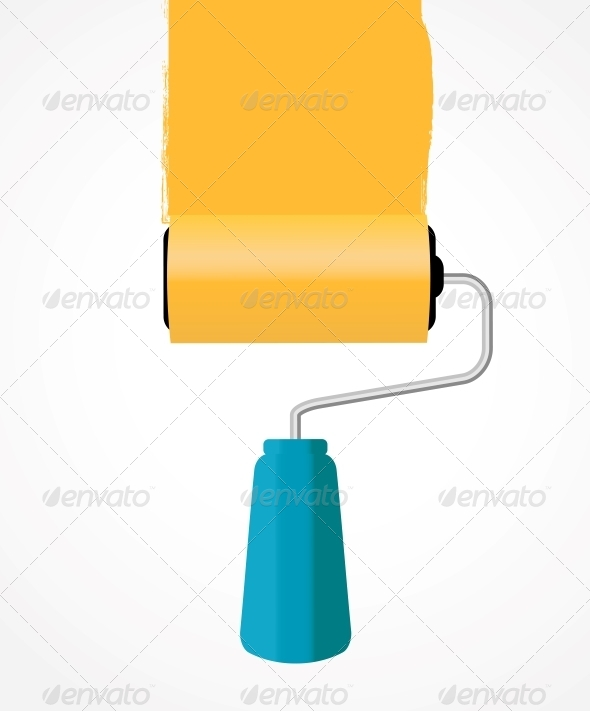 GraphicRiver Paint Roller 5075663