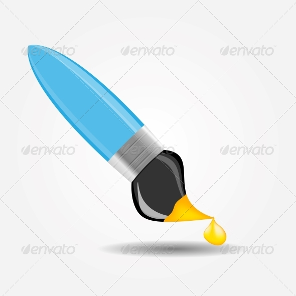 GraphicRiver Drawing and Writing Tools Icon Vector Illustration 5075689