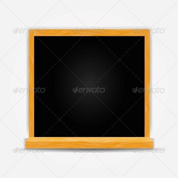 GraphicRiver School Board Icon Vector Illustration 5075706