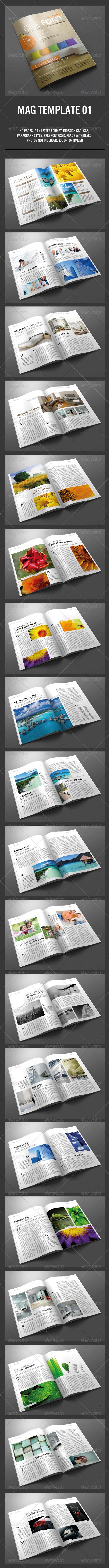 GraphicRiver Magz Template 01 5076359