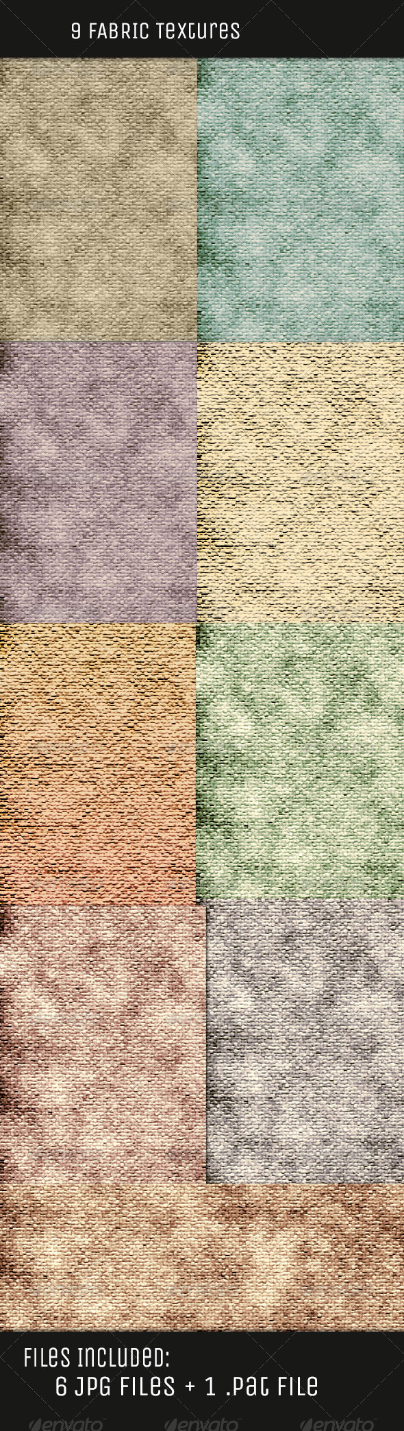 GraphicRiver Fabric Color Textures V1 5077326